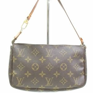 Authentic Louis Vuitton Accessories Pouch Pochette